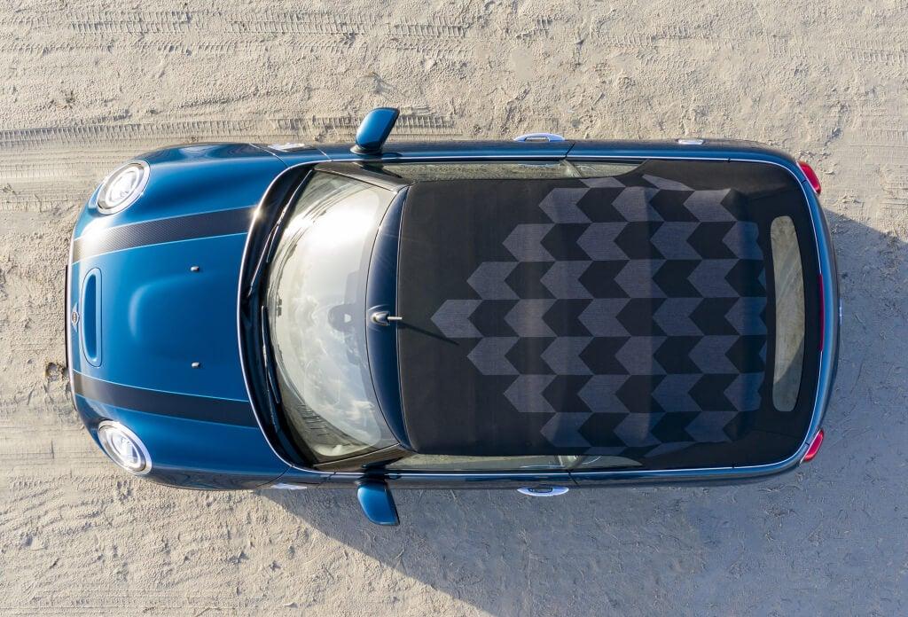 MINI Cooper S Cabrio Sidewalk: techo.