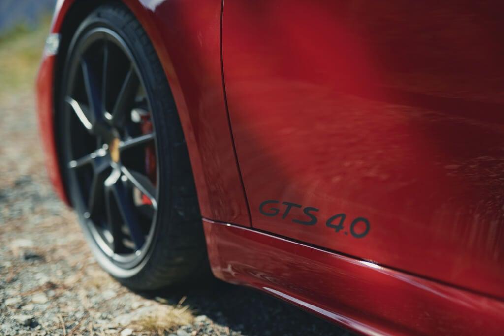 Porsche 718 GTS 4.0, llantas.