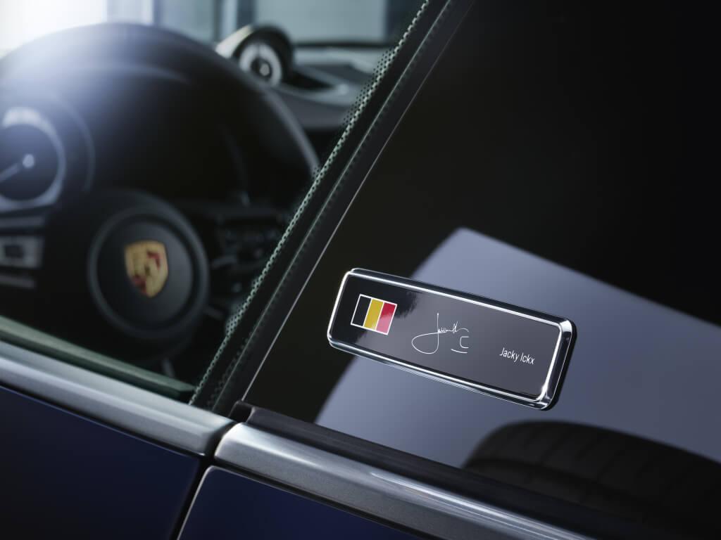 Porsche 911 Belgian Legend: detalle.
