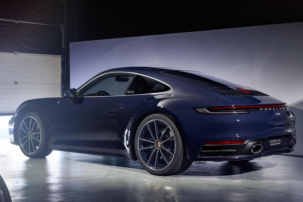 Porsche 911 Belgian Legend: trasera.