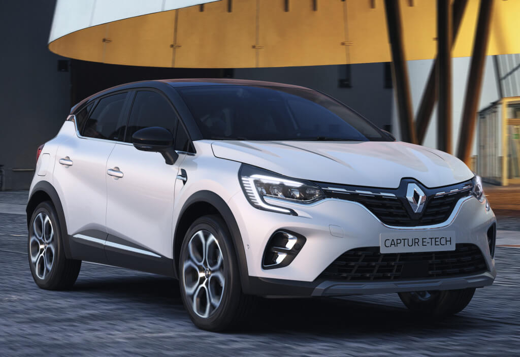 Renault Captur E-Tech, con híbridación enchufable