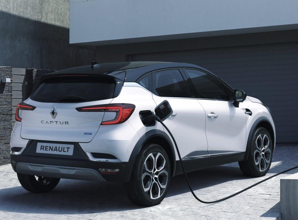 Renault Captur E-Tech: trasera.