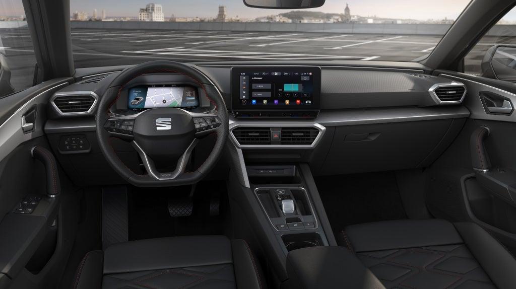 Seat Leon 2020: interior.