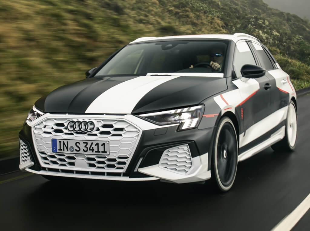 Desvelado el Audi A3 2020 Prototype con sorprendentes resultados dinámicos