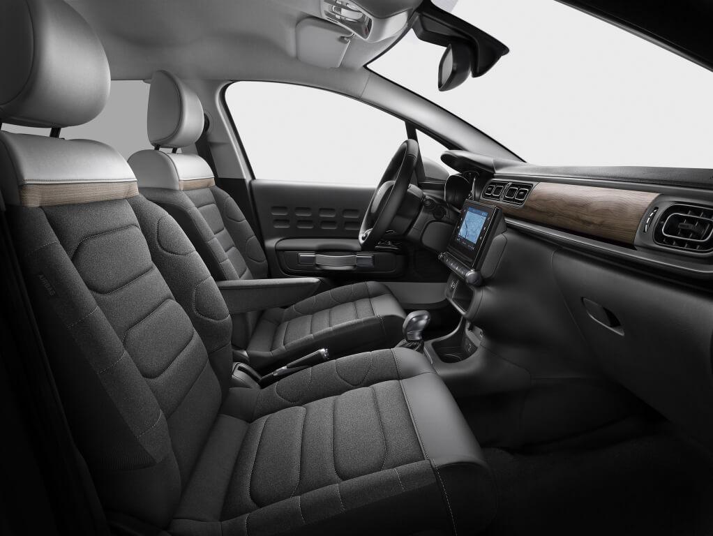 Citroën C3 2020: interior.