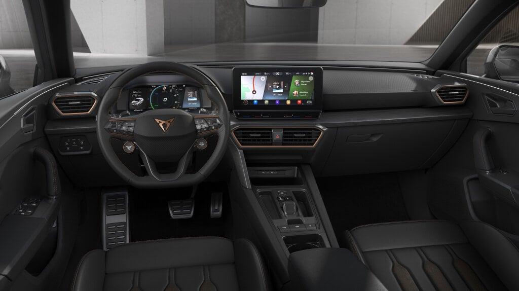 Cupra Leon 2020: interior.