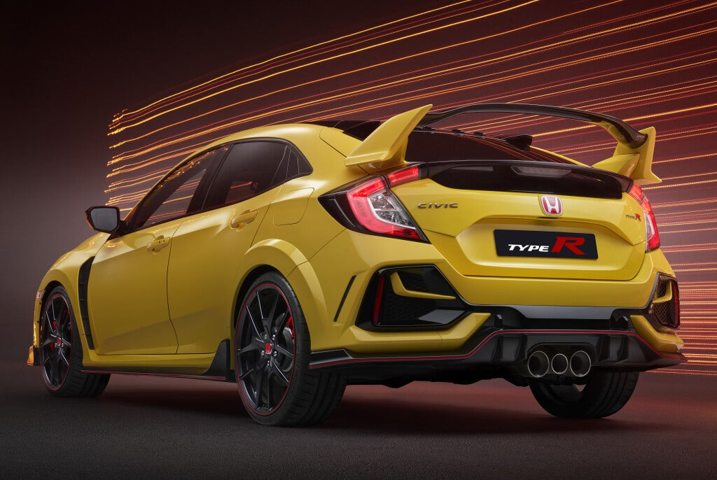 Honda Civic Type-R Limited Edition: trasera.