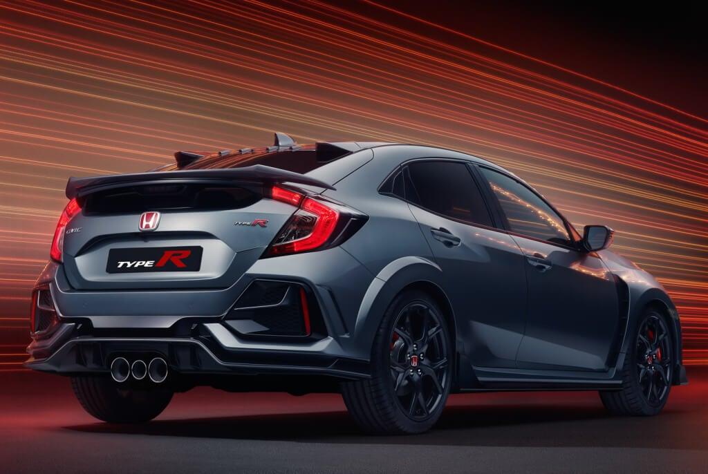 Honda Civic Type-R Sport Line: trasera.