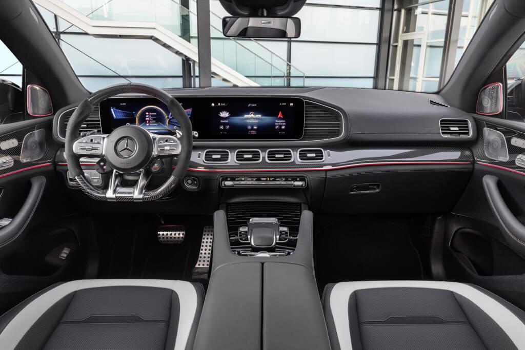 Mercedes-AMG GLE 63 S Coupé, interior.