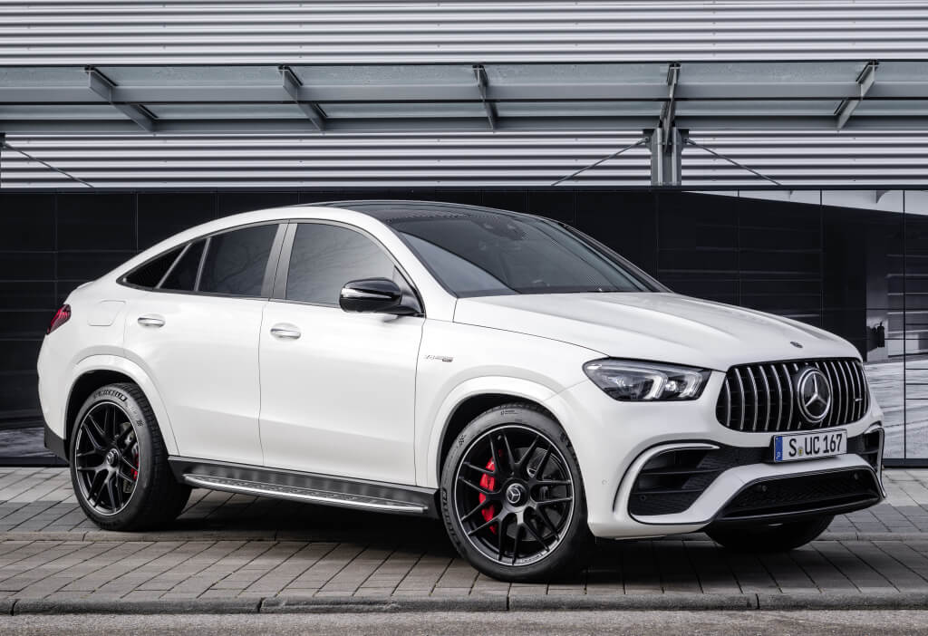 Lateral del Mercedes-AMG GLE 63 S Coupé.