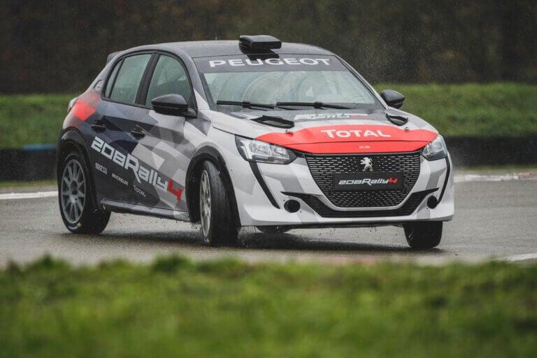 Peugeot 208 Rally4, notablemente mejor