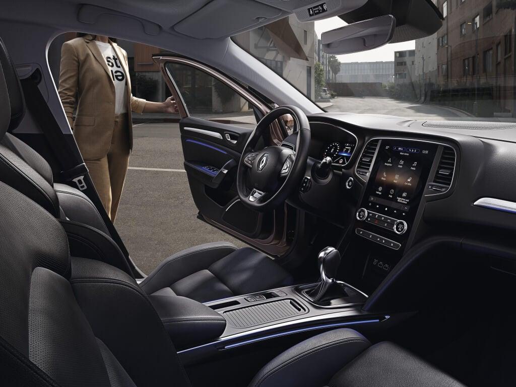 Renault Megane 2020: interior.