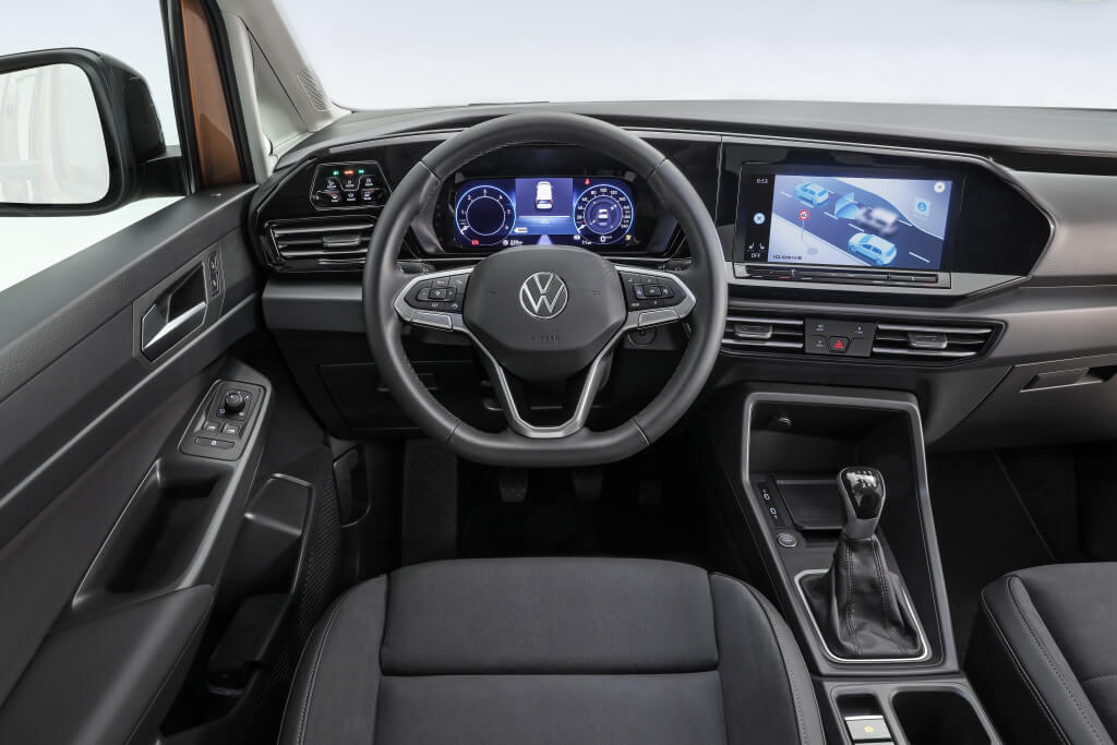 Volkswagen Caddy 2020, interior.