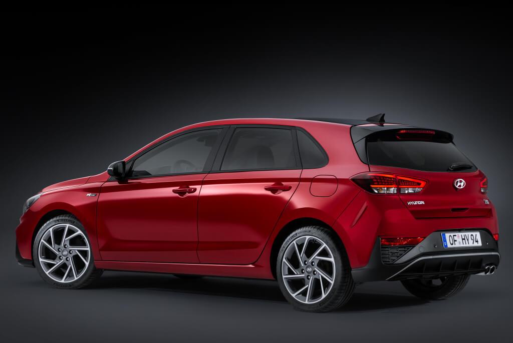Hyundai i30 2020, trasera.