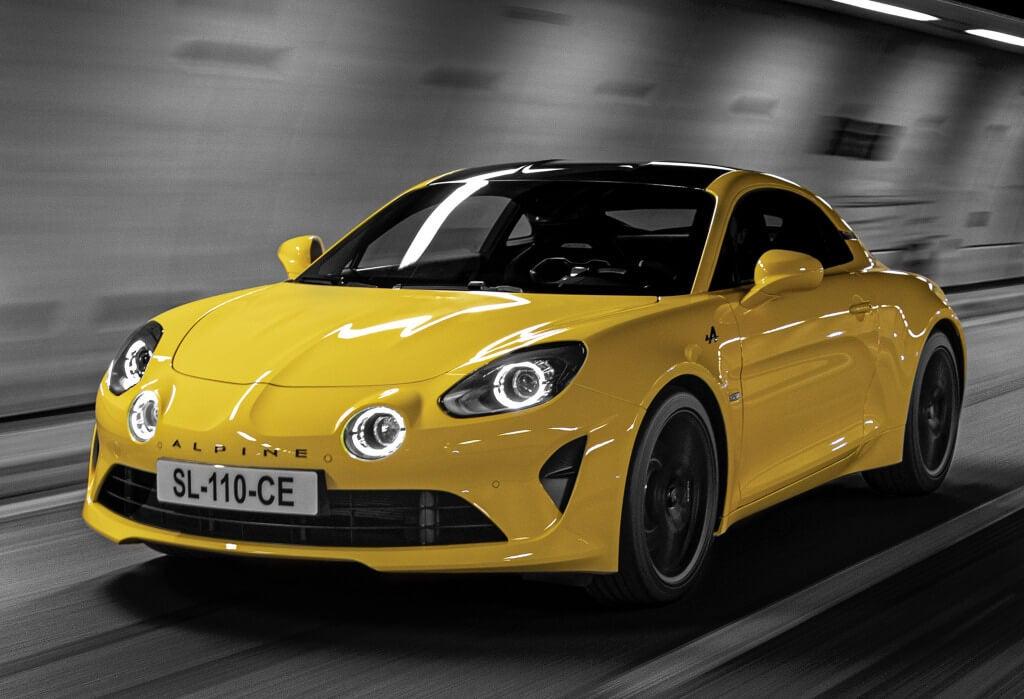 Alpine A110 Color Edition: frontal.