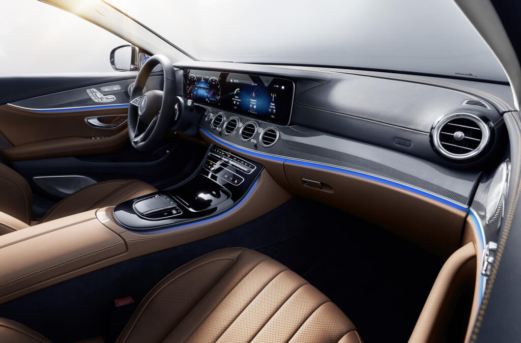 Mercedes Clase E 2020, interior.