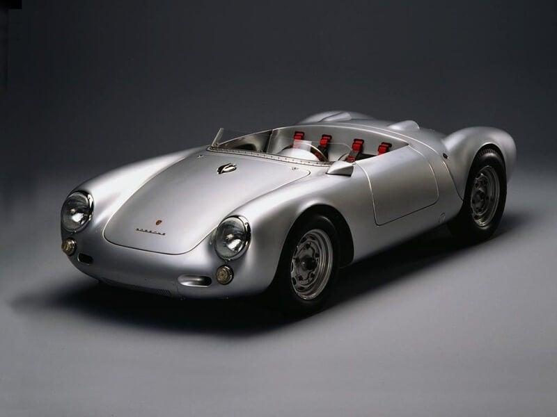 Porsche 550 Spyder: exposición.