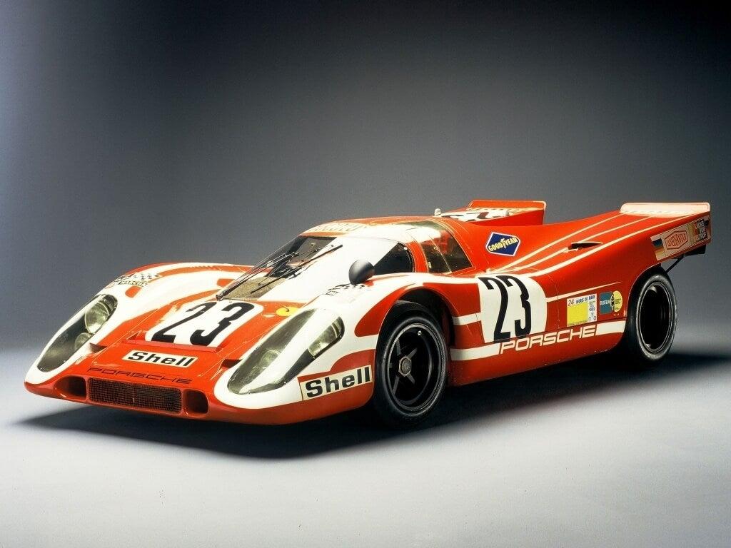Porsche 917 KH: exposición.
