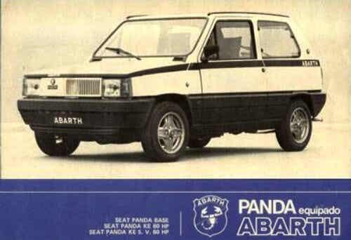 Seat Panda Abarth, el único y desconocido escorpión español
