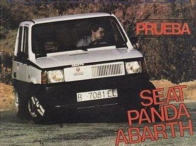 Seat Panda Abarth: Imagen de archivo.