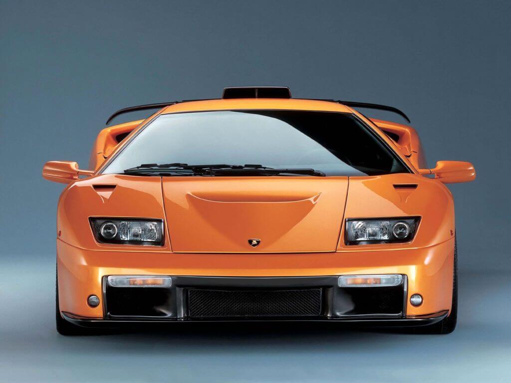 Lamborghini Diablo GT: frontal.