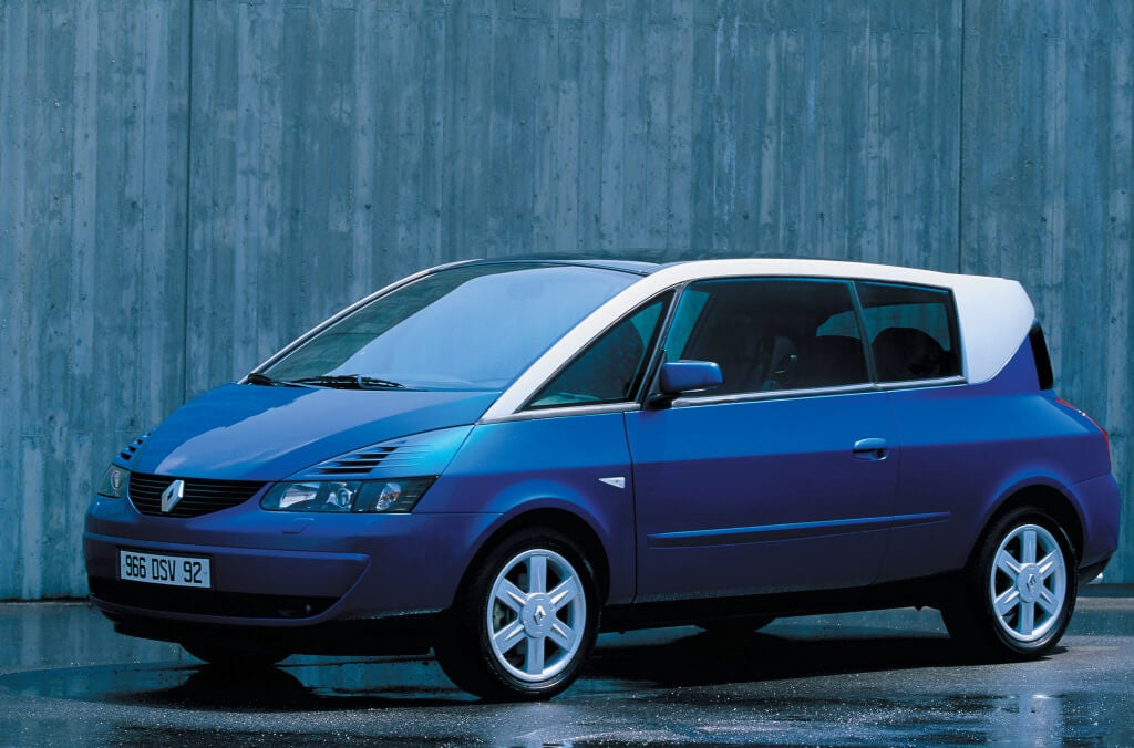 Renault Avantime, un monovolumen tan espectacular como infravalorado