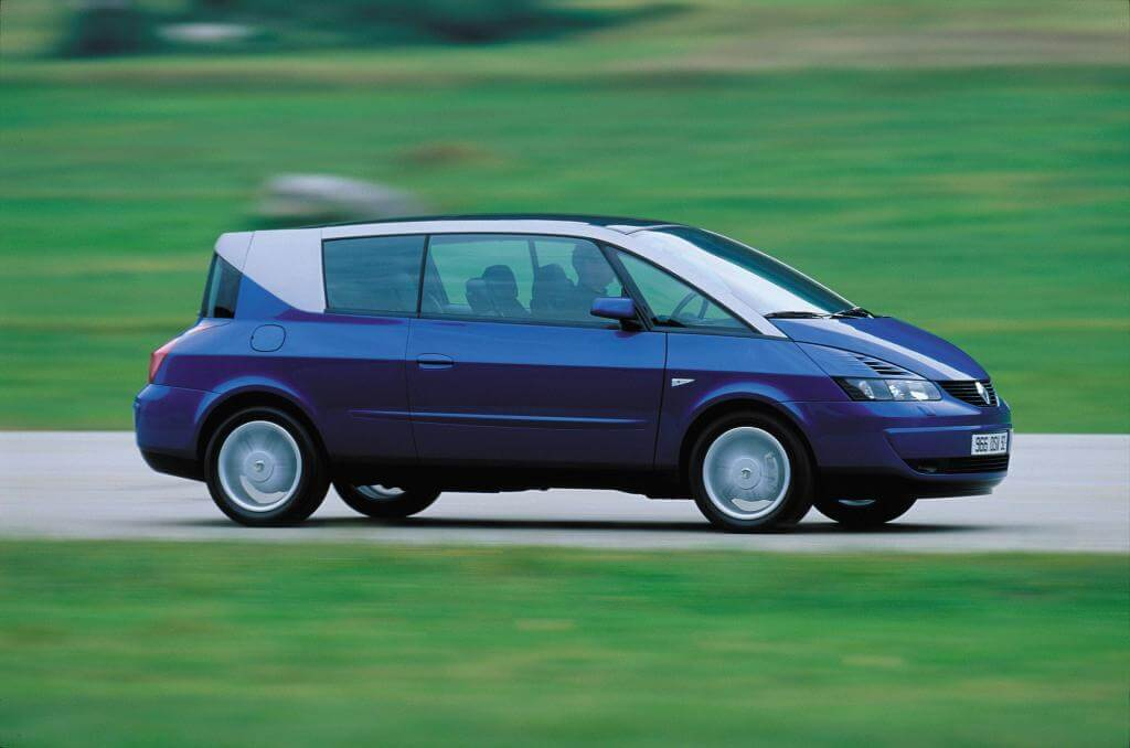 Renault Avantime: lateral.