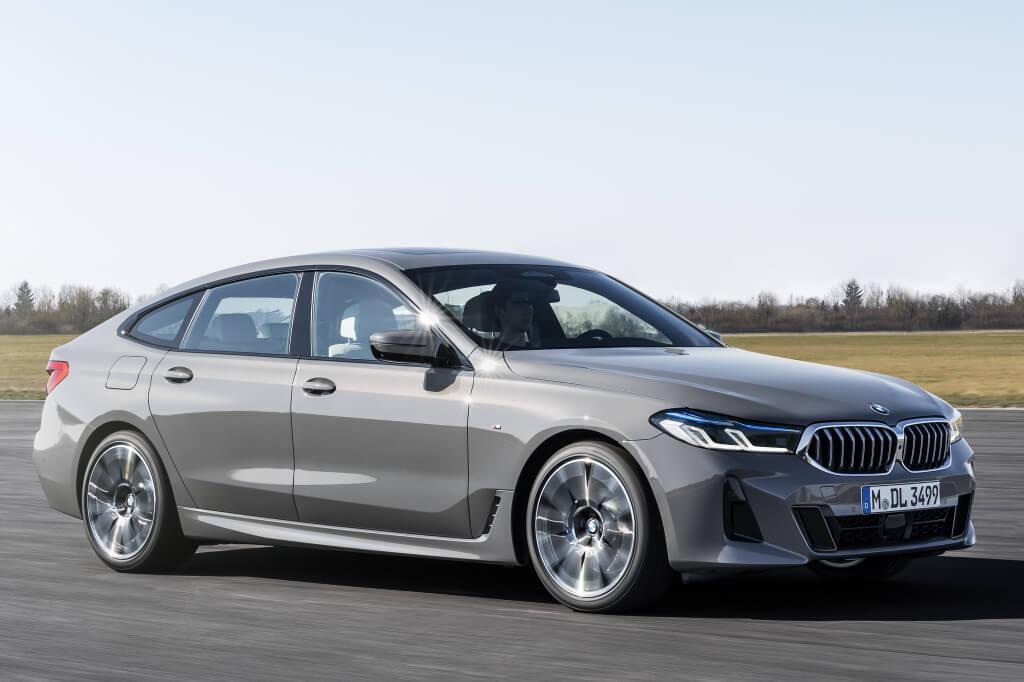 BMW Serie 6 GT 2021, restyling de media vida