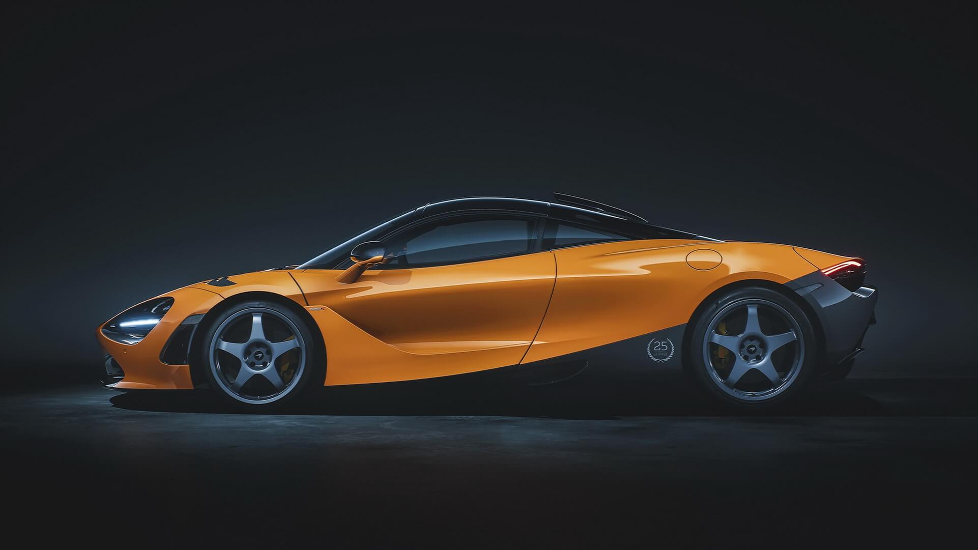 McLaren 720S Le Mans: perfil.