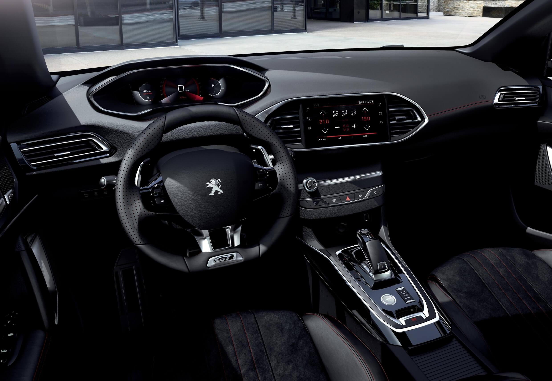 Peugeot 308 2020: interior.