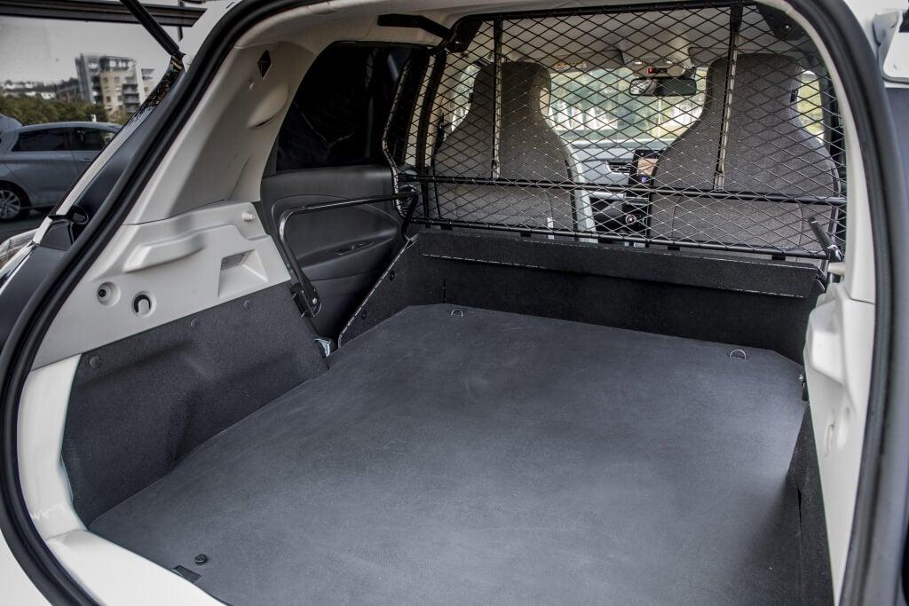 Renault ZOE Van: zona de carga.