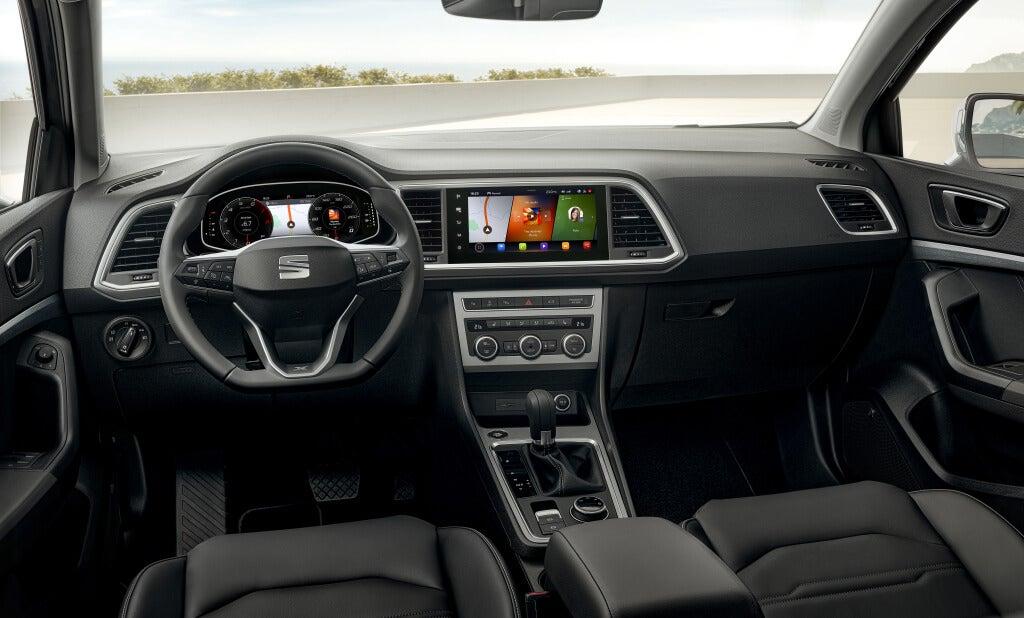 Seat Ateca 2021: interior.