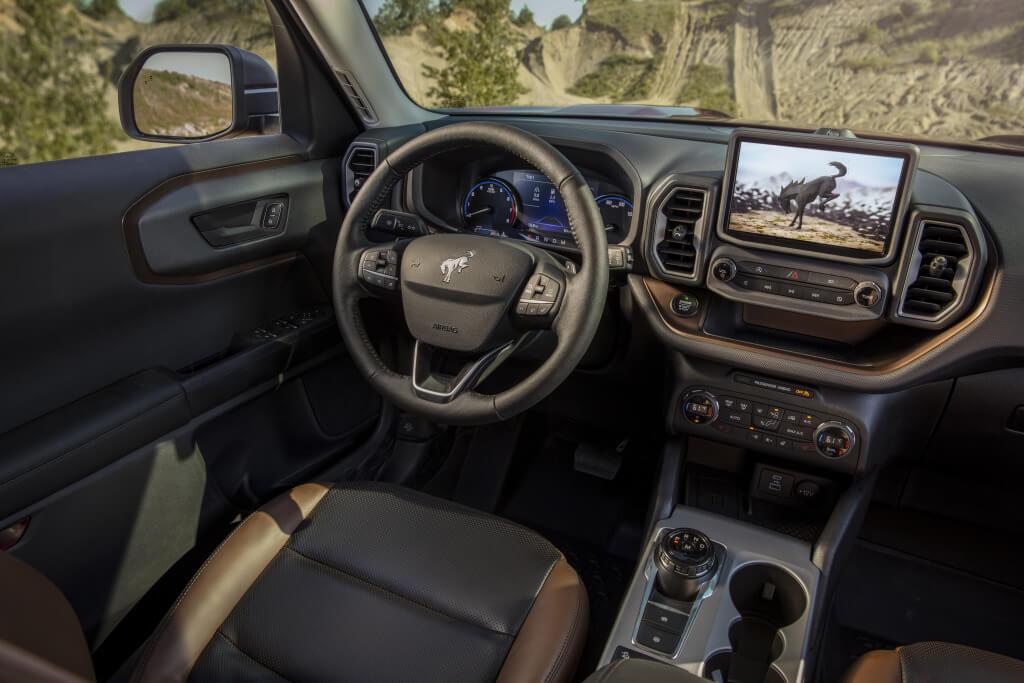 Ford Bronco Sport, interior.