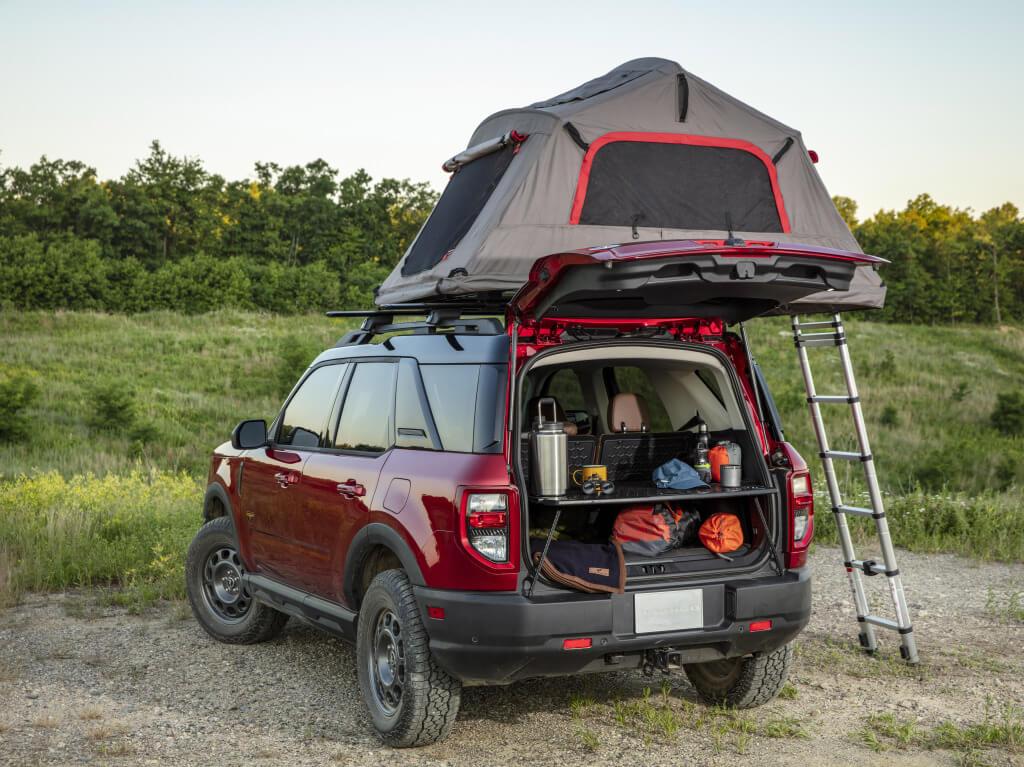 Ford Bronco Sport, accesorios de camping.