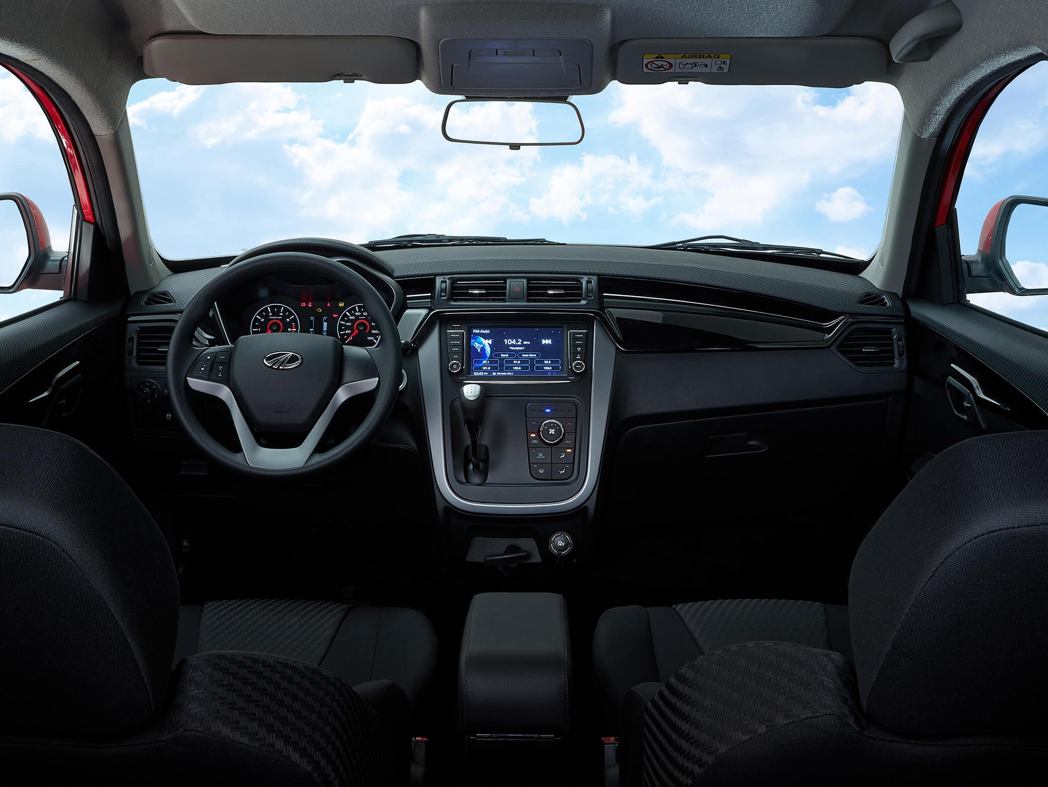 Mahindra KUV100: interior.