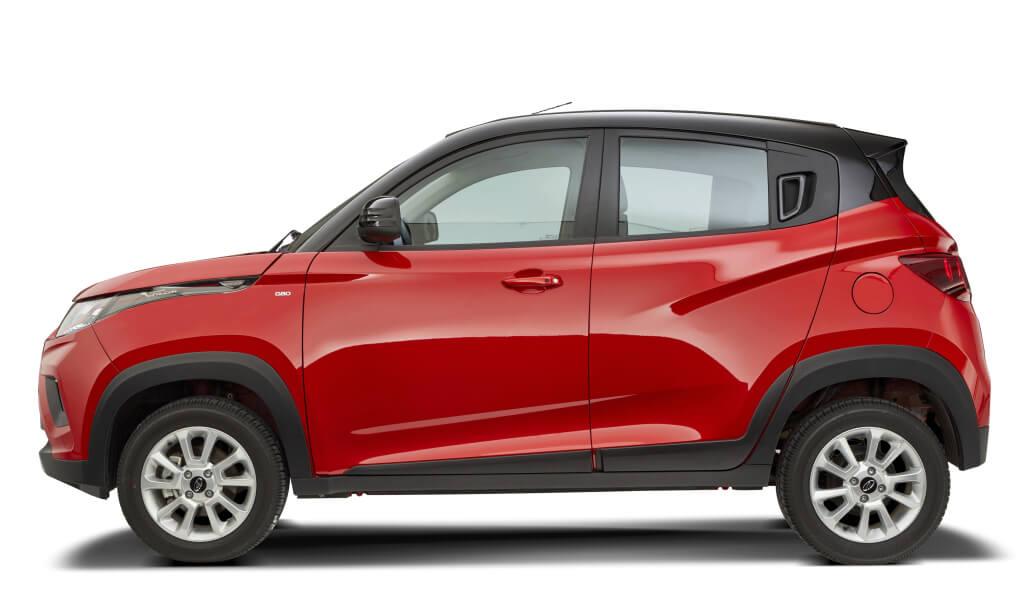 Mahindra KUV100: perfil.