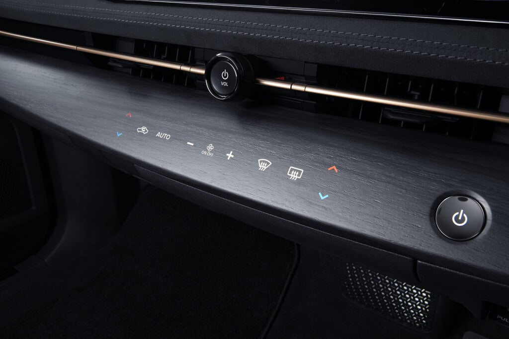 Nissan Ariya: detalle.