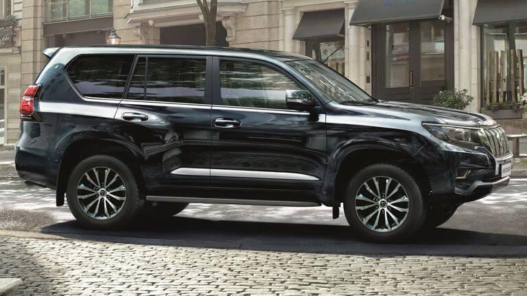 Toyota Land Cruiser 2021: perfil