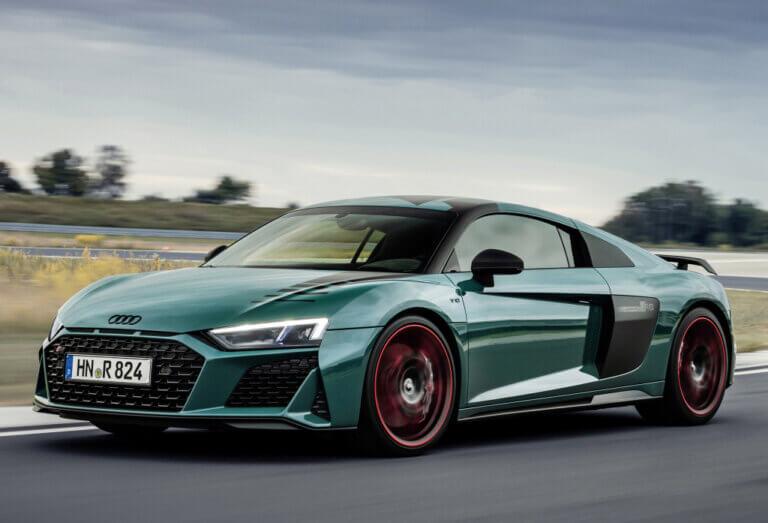 Audi R8 Green Hell Edition: un homenaje a las victorias en Nürburgring