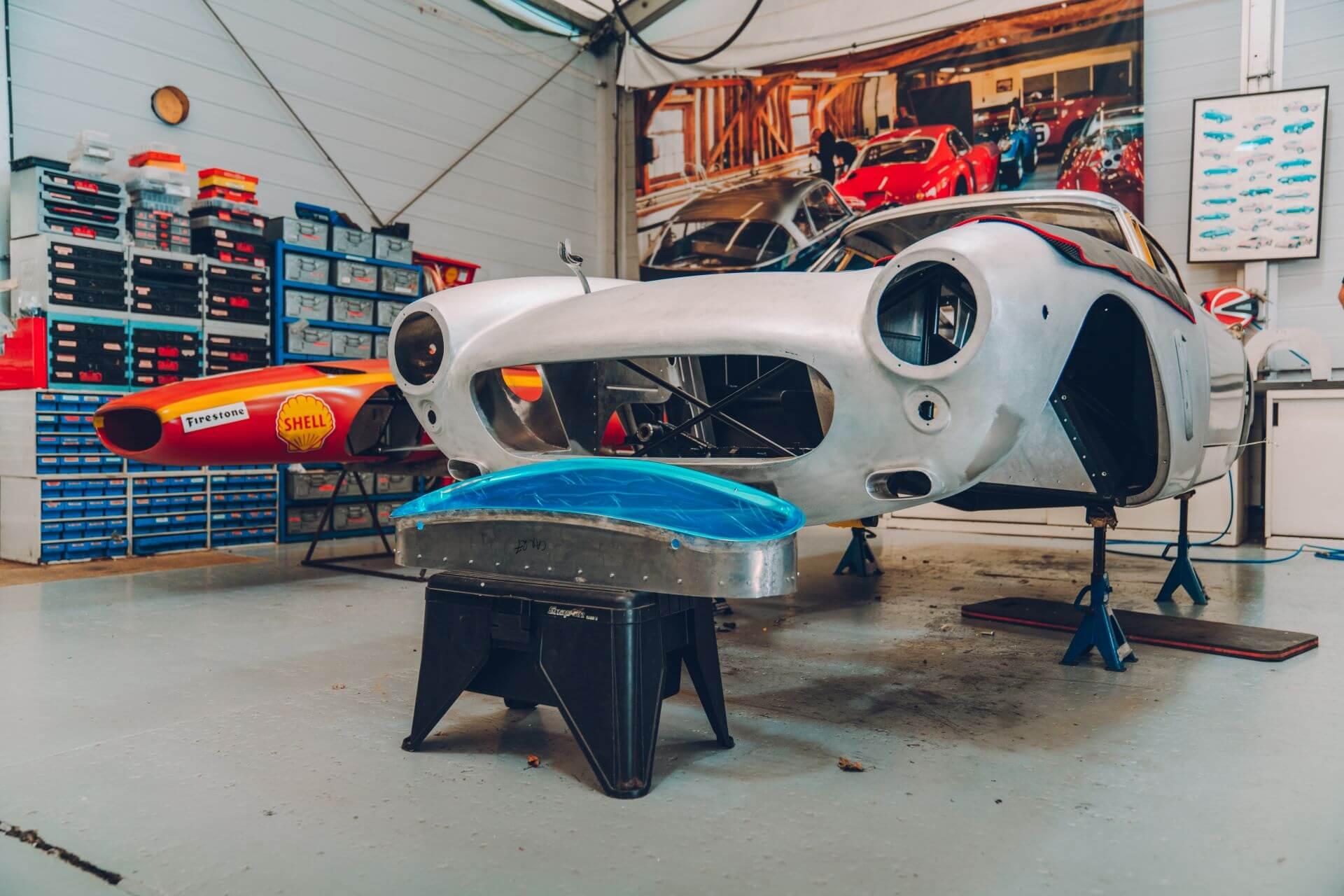 Ferrari 250 GT Revival: fabricación.