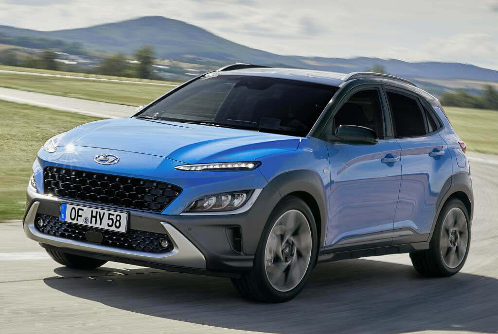 Hyundai Kona 2021: frontal.