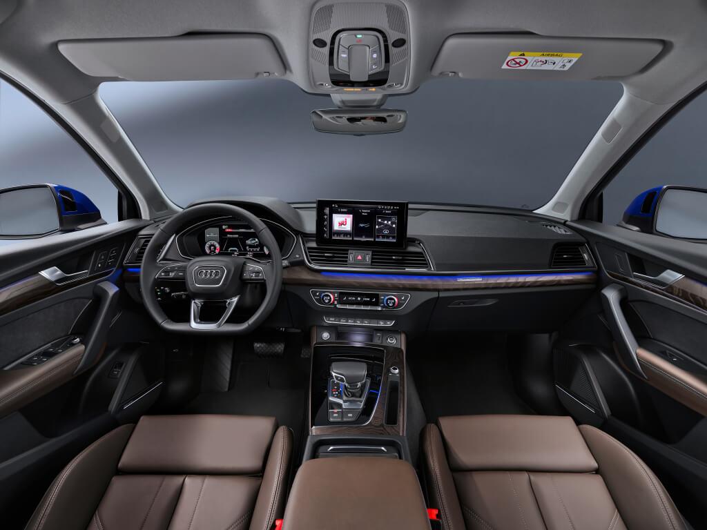 Audi Q5 Sportback, interior.