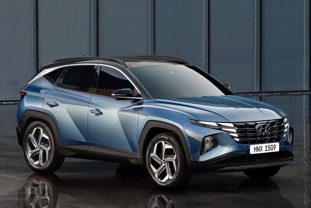 Hyundai Tucson 2021: frontal.