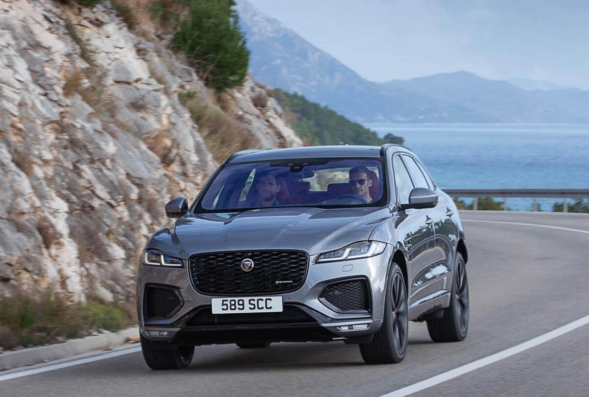 Jaguar F-Pace 2021: imponente por dentro y por fuera