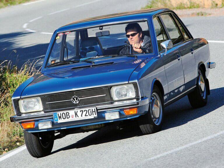 Volkswagen K70, el primer tracción delantera refrigerado por agua de Wolfsburgo