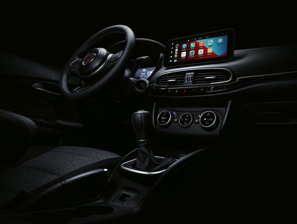 Fiat Tipo 2021: interior.