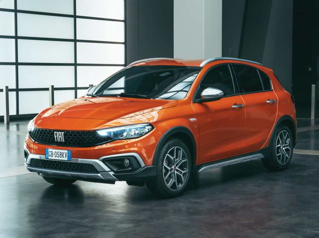 Fiat Tipo Cross: frontal.