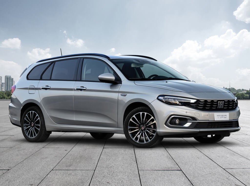 Fiat Tipo Station Wagon: frontal.