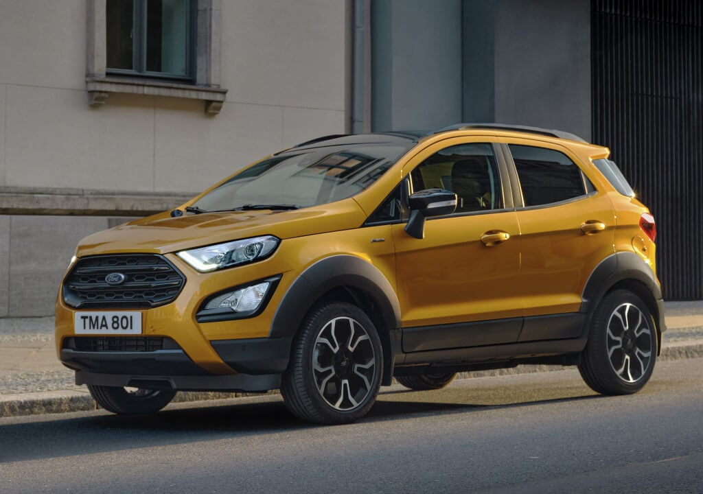 Ford EcoSport Active: frontal.