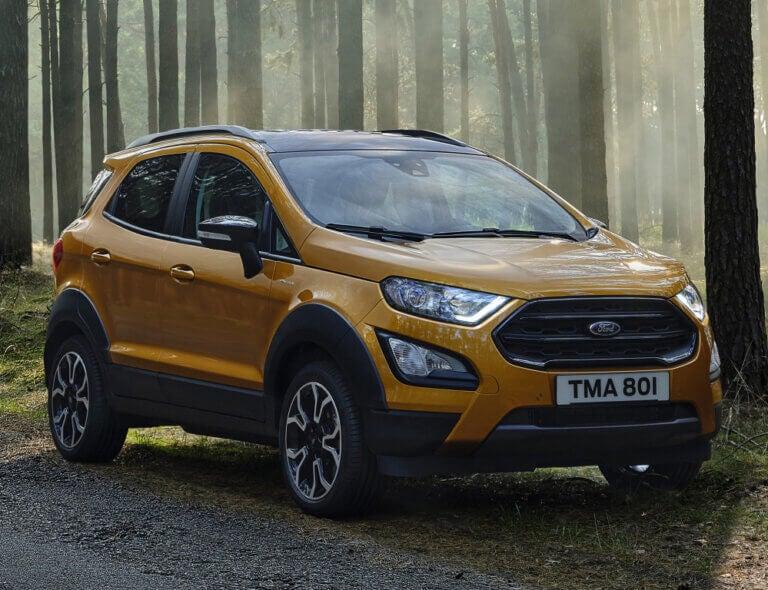 Ford EcoSport Active, con extra de espíritu aventurero